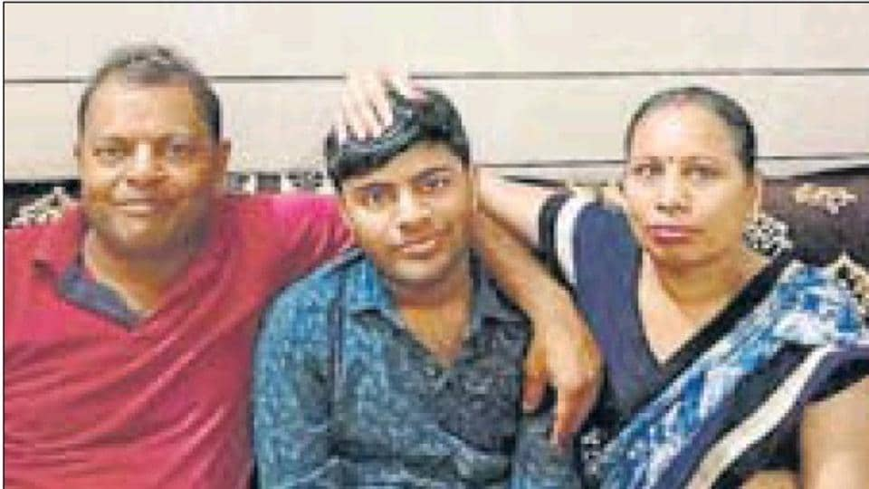 Panipat's Mohit Goyal has secured AIR 13 in the NEET (UG) - 2019, results of which were announced by the National Testing Agency on Wednesday. (Mohit with his parents in picture above)