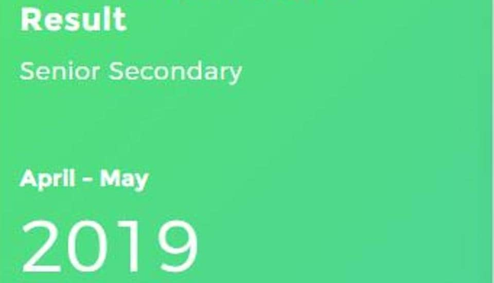The National School of Open Schooling has released the result of Class 12 (Sr. Secondary) examination 2019. The examination was held in April-May 2019.