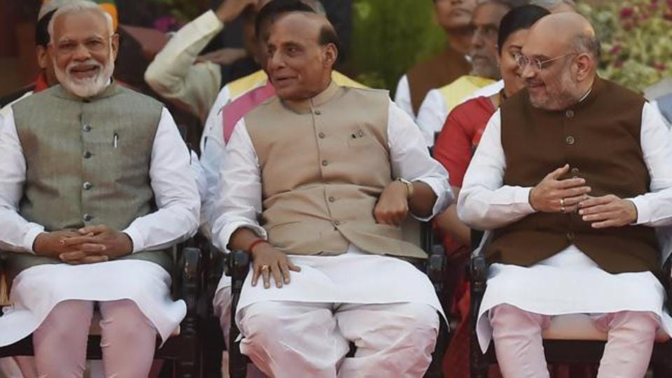 A day after announcing new Cabinet committees for employment and growth, the government on Thursday reconstituted six other panels. (Ajay Aggarwal/HT PHOTO)