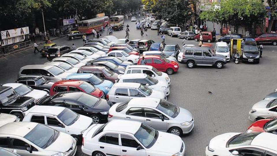 BMC,societies,parking lots