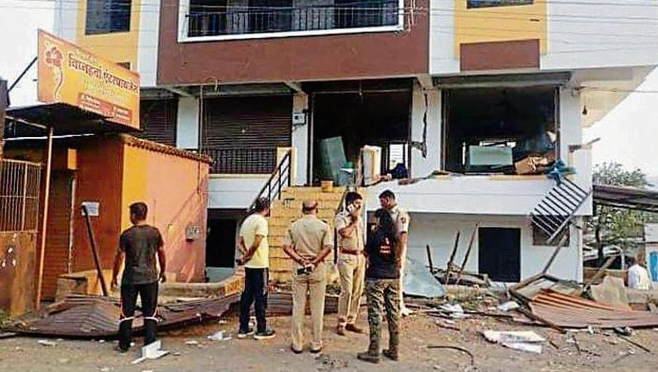 Maharashtra,Bombs,forest department