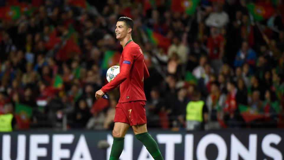 Portugal's forward Cristiano Ronaldo
