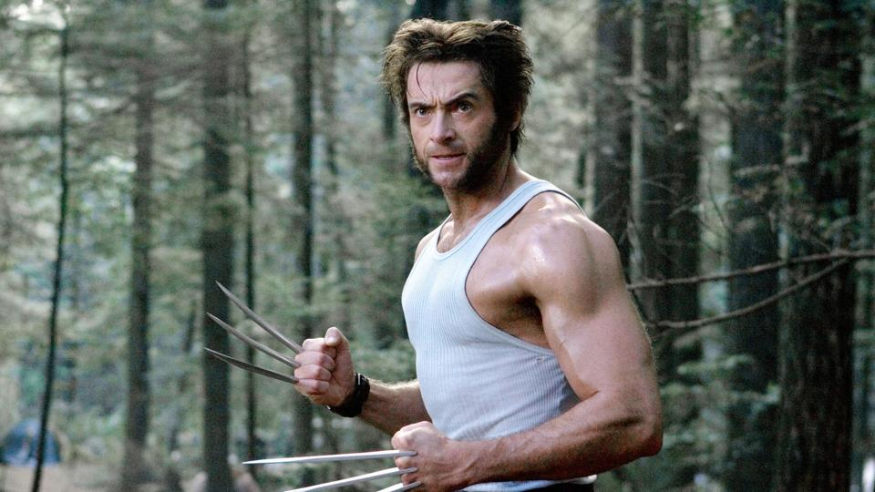 Hugh Jackman in a still from X-Men: The Last Stand.
