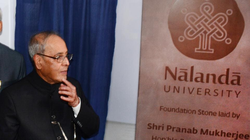 Former president Pranav Mukharjee had laid the foundation stone of the Nalanda University campus on August 27, 2016.