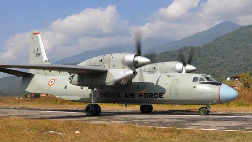 The Indian Navy's Long Range Maritime Reconnaissance aircraft P8i conducted an aerial survey to locate the partly upgraded An-32 plane.