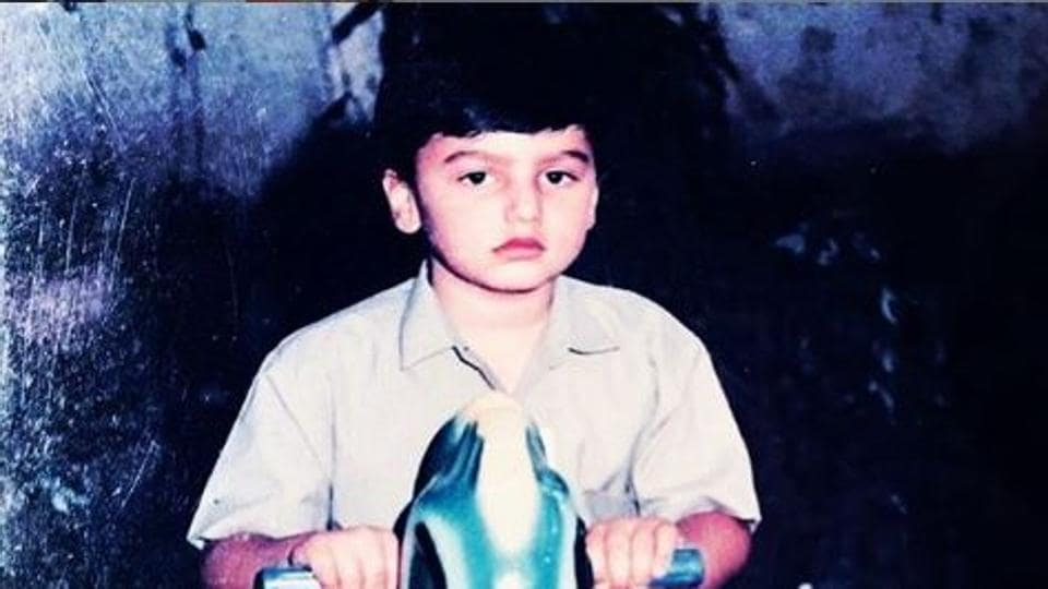 Arjun Kapoor shared this throwback picture on Instagram.