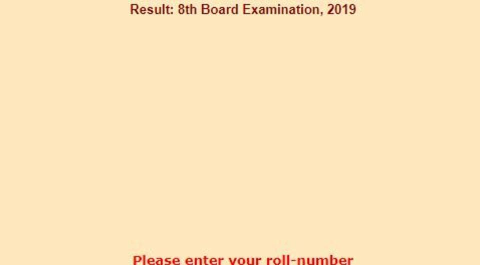 Rajasthan Board Result 2019 highlights: RBSE 8th results
