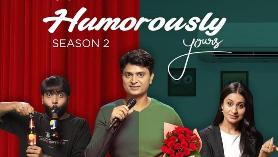 Humorously Yours season 2,Rasika Dugal,Vipul Goyal