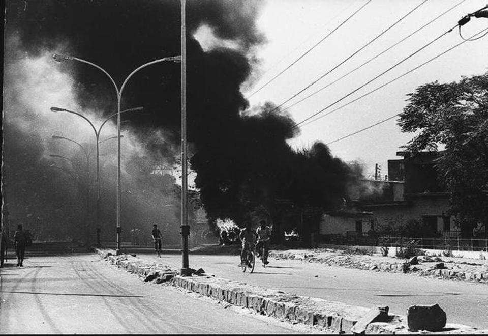 Delhi riots, November 1984.