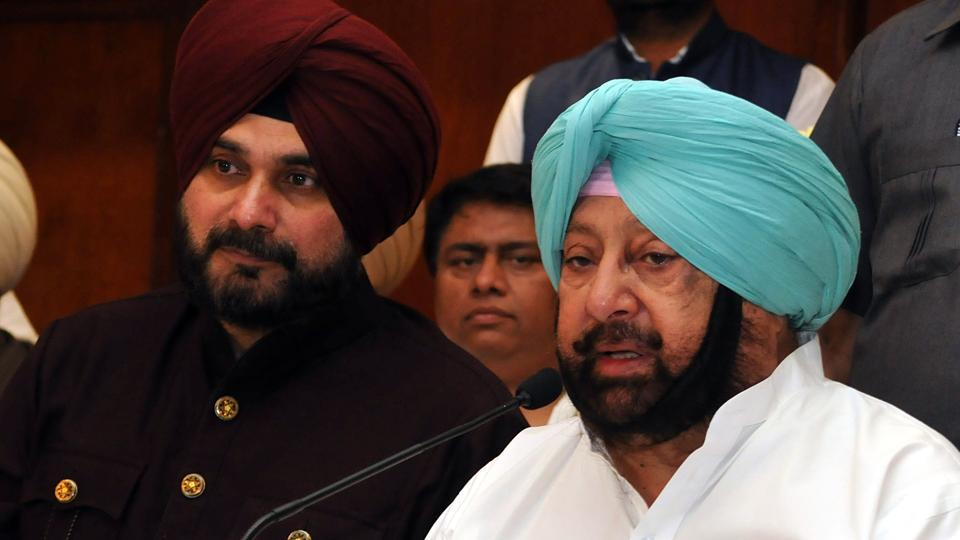 The CM struck back by stripping Sidhu, who is at third place in the cabinet pecking order, of his plum local bodies portfolio as well as tourism ministry.