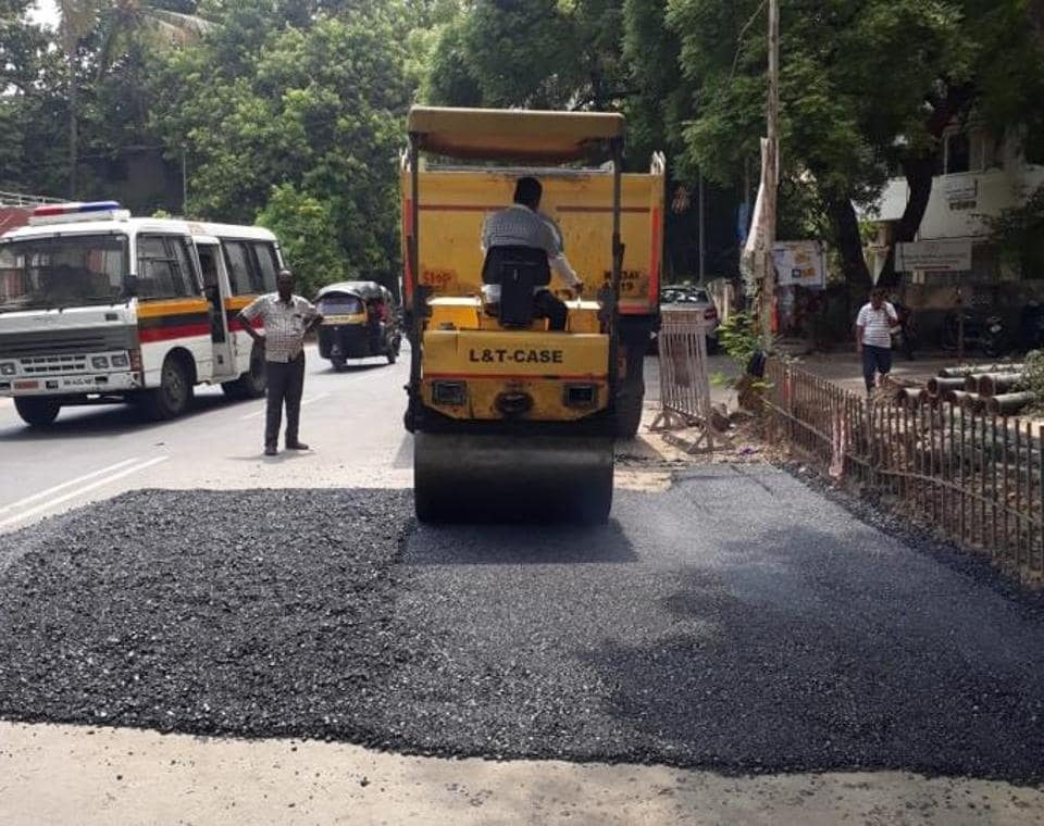 The civic administration missed the May 31 deadline to carry out the annual pre-monsoon road maintenance because the model code of conduct came into effect.