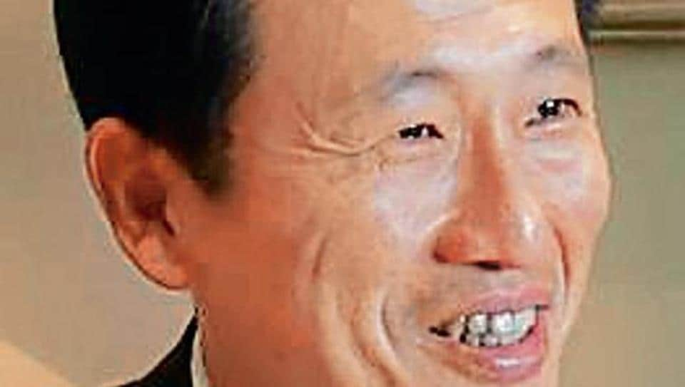 Seen here is Singapore education minister Ong Ye Kung.