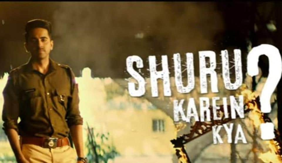 Ayushmann Khurrana plays a cop in Anubhav Sinha's Article 15.