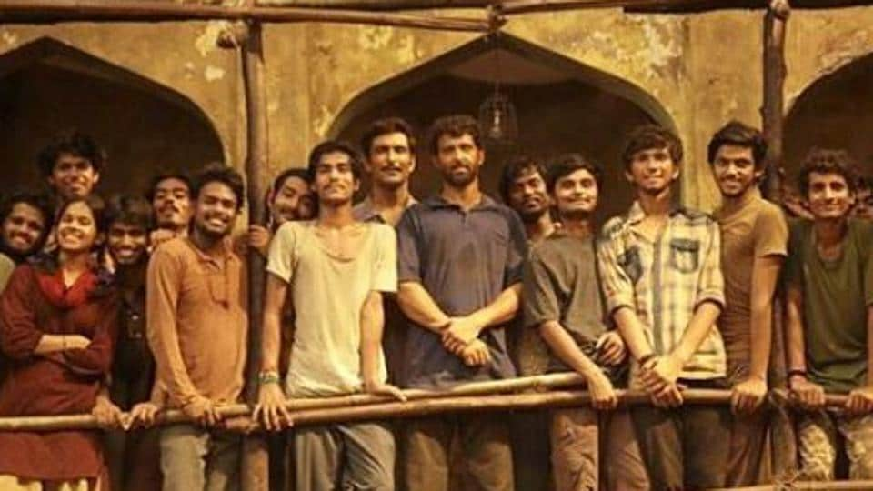 Hrithik Roshan shared a new BTS picture from Super 30 sets on Instagram.