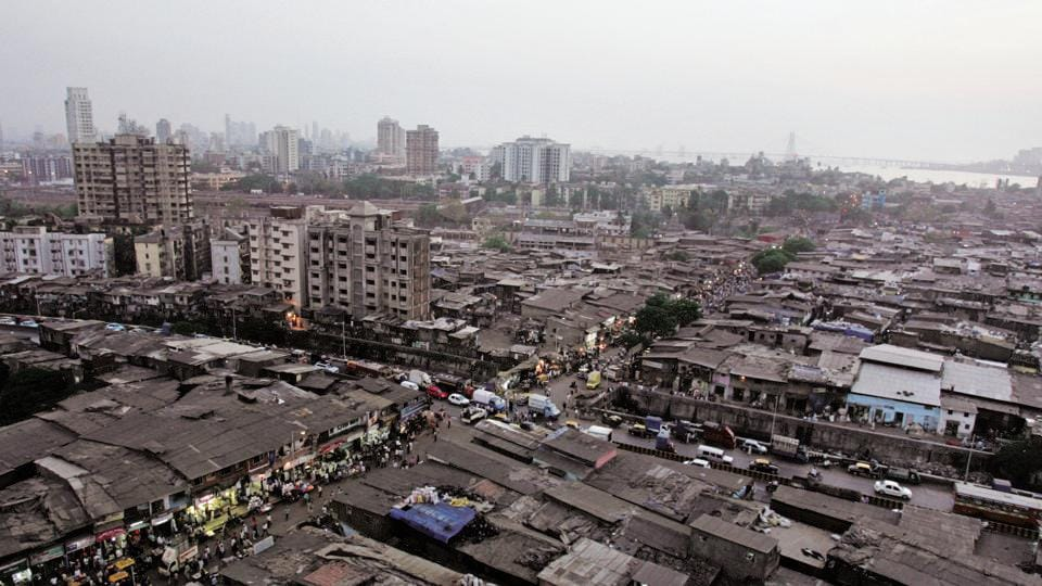 Aerial View of Dharavi in Mumbai. Image used for representational purpose only.