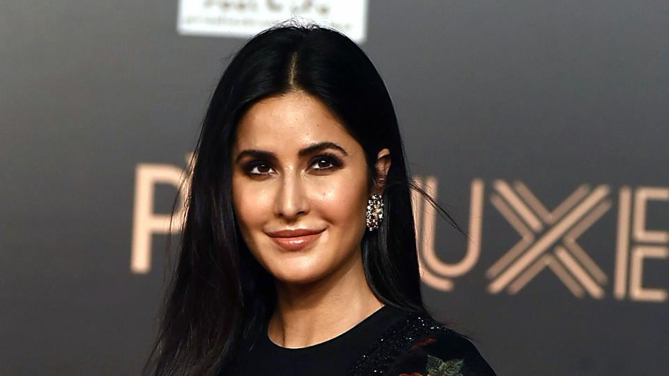 Katrina Kaif attends the premiere of her Hindi film Bharat in Mumbai, June 5, 2019.