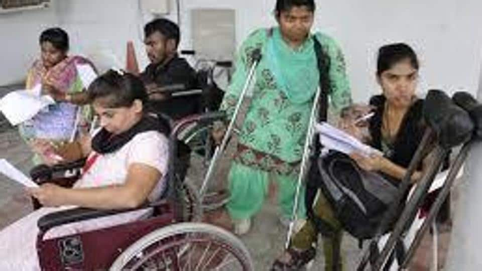 diffrently abled people,schools for differently abled,delhi polls