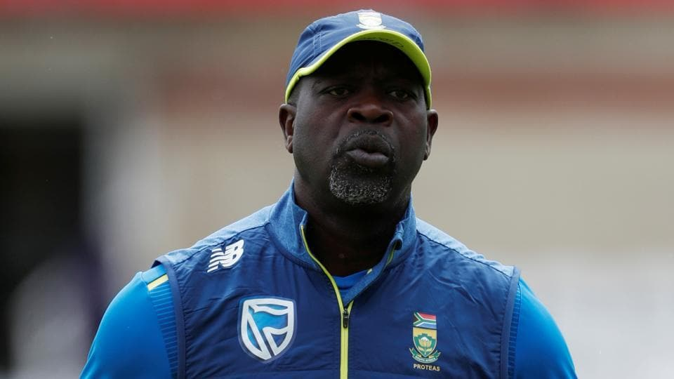 Cricket - ICC Cricket World Cup - South Africa Nets - Kia Oval, London, Britain - May 29, 2019 South Africa head coach Ottis Gibson during nets Action Images via Reuters/Paul Childs