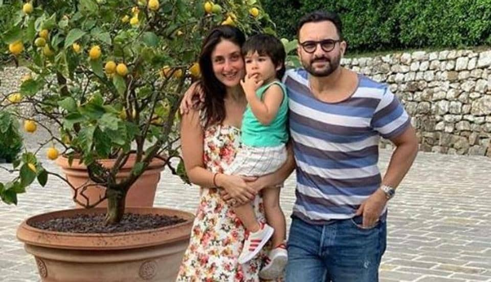 Saif Ali Khan and Kareena Kapoor are on a vacation in Italy with son Taimur.