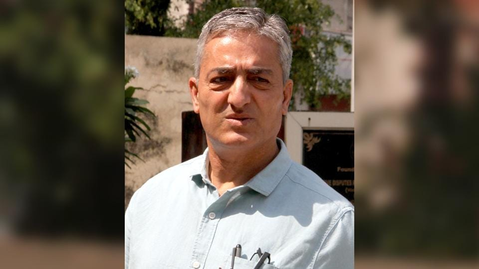 Former Jammu and Kashmir Police officer Ramesh Kumar Jalla who headed the probe into the rape and murder of an 8-year-old girl in Kathua