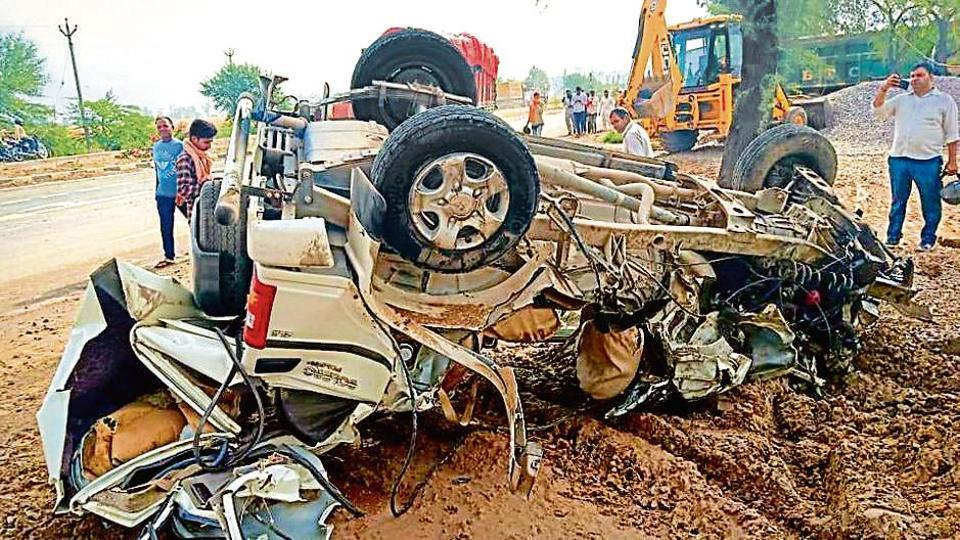 road accidents,road accidents in haryana,traffice police