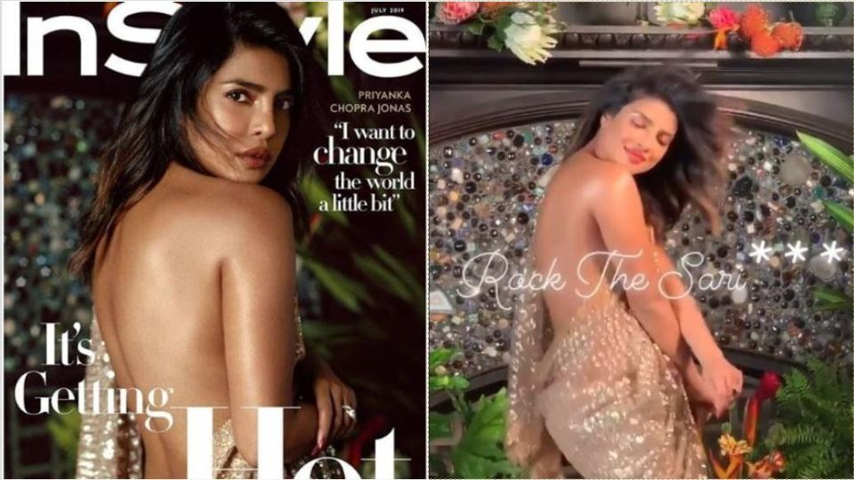 Priyanka Chopra shared several videos on Instagram from her photoshoot for the American magazine.