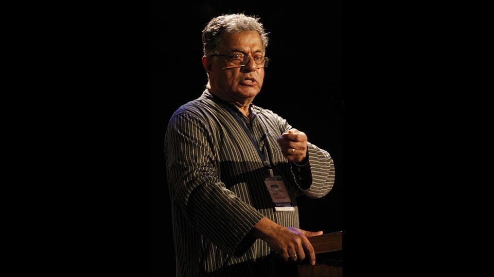 Jnanpith award winning playwright, actor and filmmaker Girish Karnad, aged 81, died in Bengaluru on Monday after suffering from a long illness, his family confirmed. Karnad was known for his versatile career spanning across mediums and genres. The Karnataka government declared a holiday on Monday in light of Karnad's passing and announced state mourning for a period of three days. Tributes poured in for Karnad from across the world. (Anshuman Poyrekar / HT Archive)