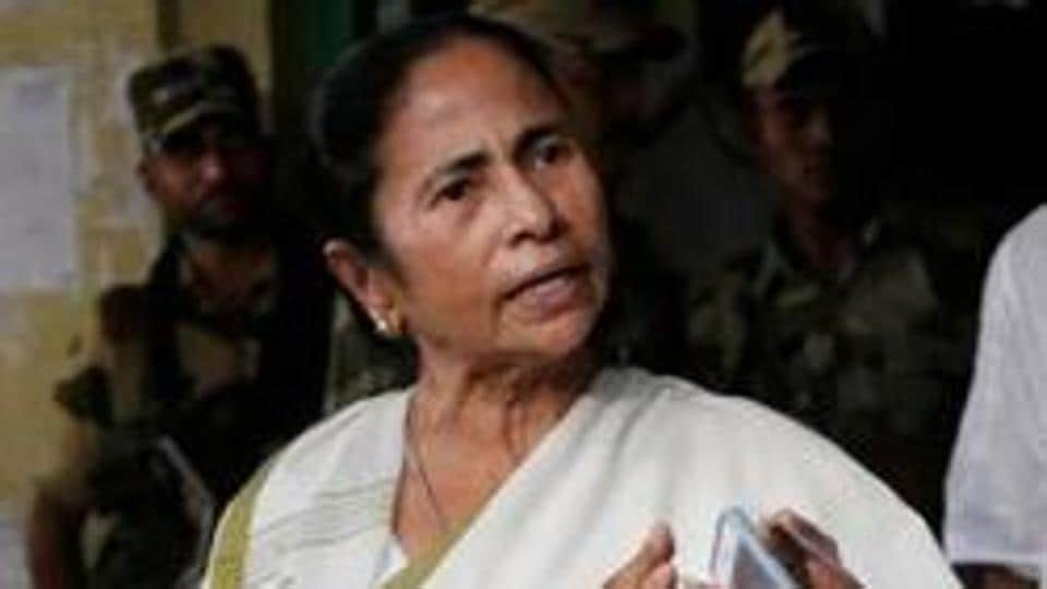 Mamata Banerjee said the Bharatiya Janata Party (BJP) was trying to throttle her voice as she was the only one in the country to protest against them.