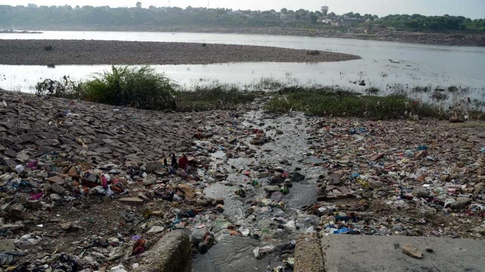 Chambal river pollution