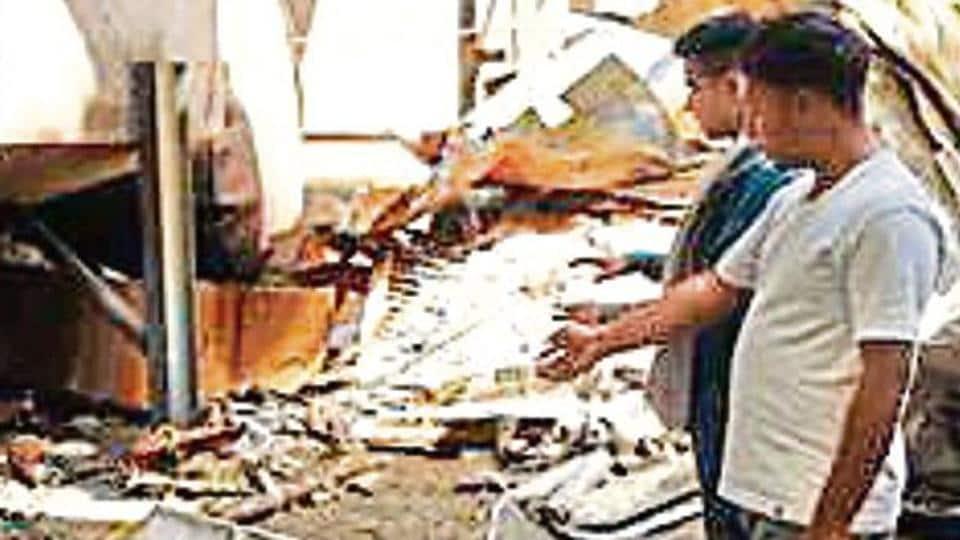 fire in nuh,gurugram accident,mumbai accident