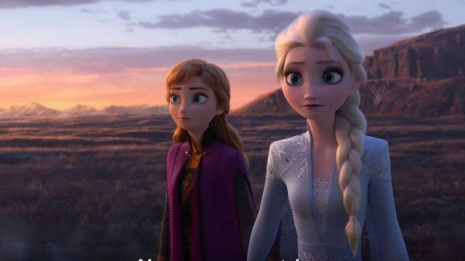Frozen 2,Frozen 2 trailer,Elsa