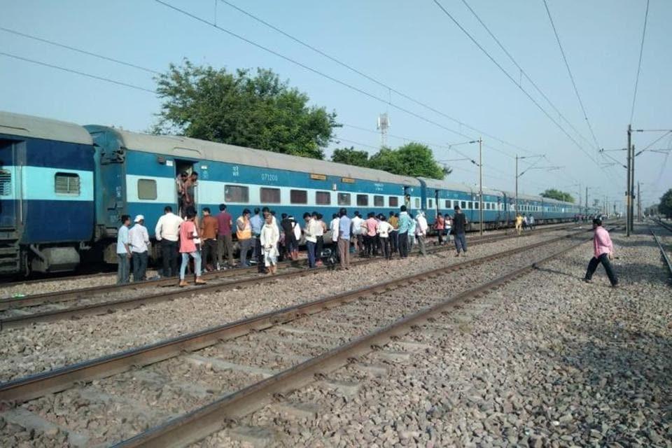 Etawah,Rajdhani Express,Train tragedy