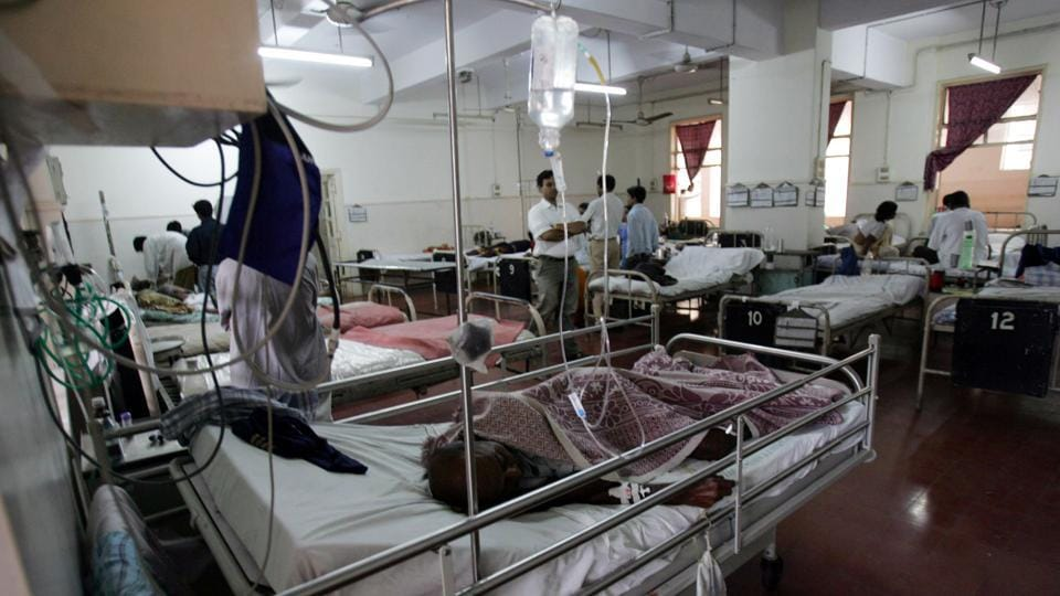 There is a shortfall of 20% sub-centres, 22% public health centres and 32% community health centres in India.