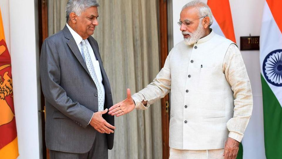 Ranil Wickremesinghe,PM Modi,Narednra Modi