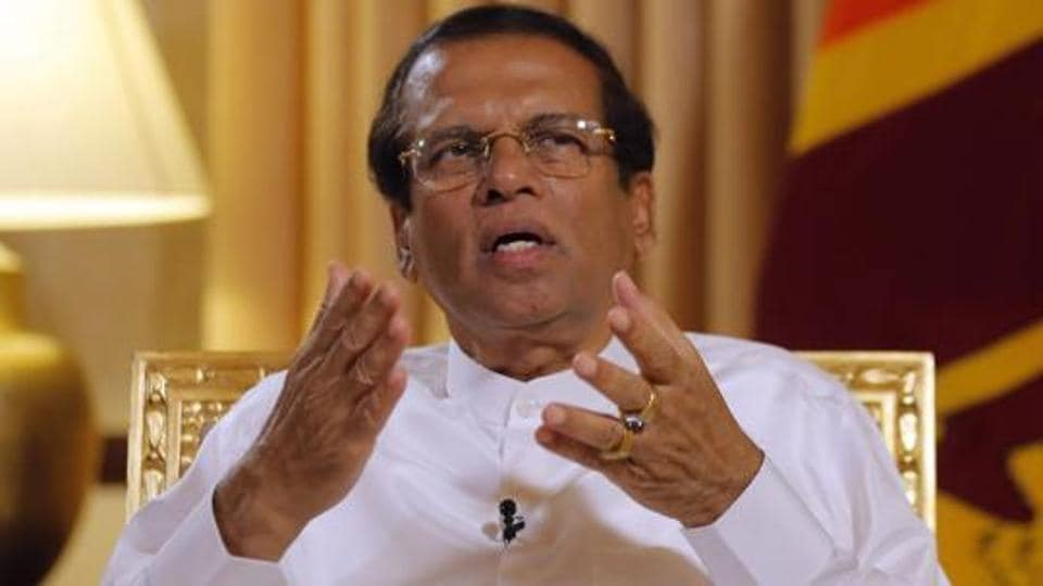 President Sirisena last week asked the Cabinet to halt the hearings, citing national security concerns.