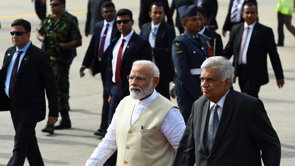Ranil Wickremesinghe,PM Modi in Sri Lanka,Sri Lanka