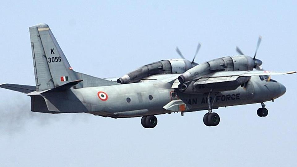 The wreckage of the AN-32 aircraft of the Indian Air Force  was spotted in the mountains of Siang district in Arunachal Pradesh on Tuesday.