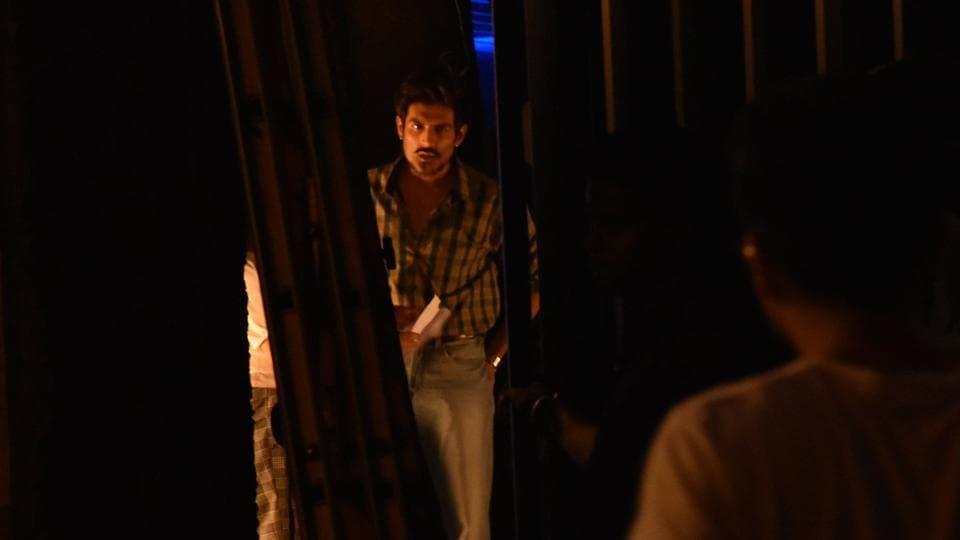 Kartik Aaryan spotted on sets of Love Aaj Kal 2.