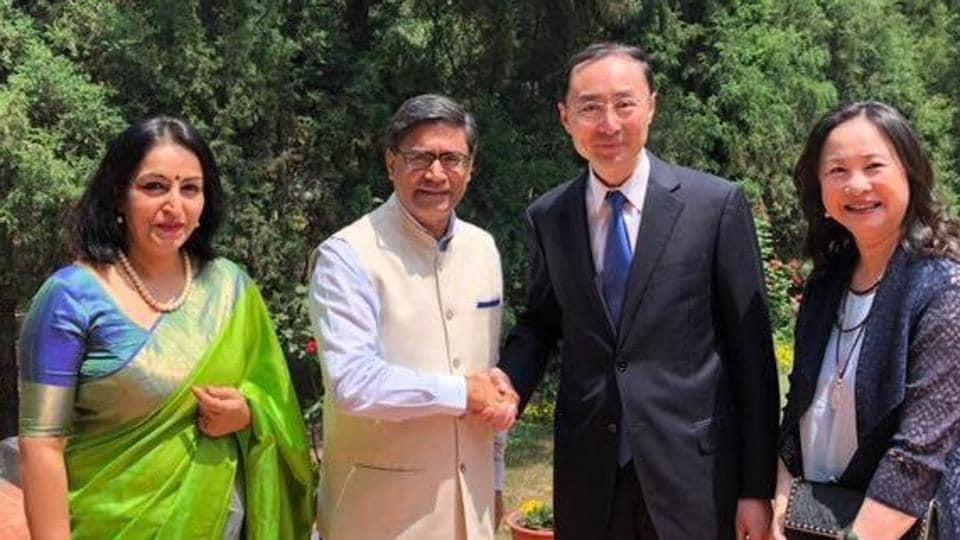 Sun Weidong,China envoy to India,career diplomat Sun Weidong
