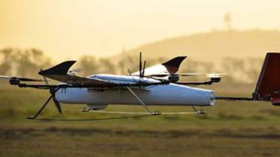 zomato,zomato drone food delivery,zomato techeagle