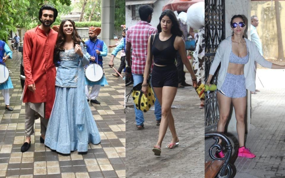 Disha Patani,Malaika Arora,Janhvi Kapoor