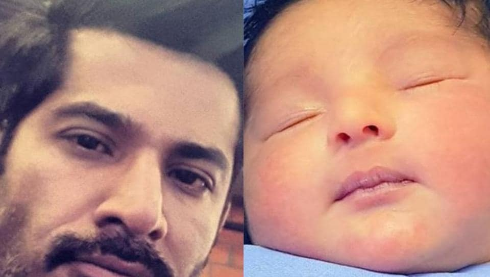 Vivan Bhatena announced the birth of his daughter on Instagram.
