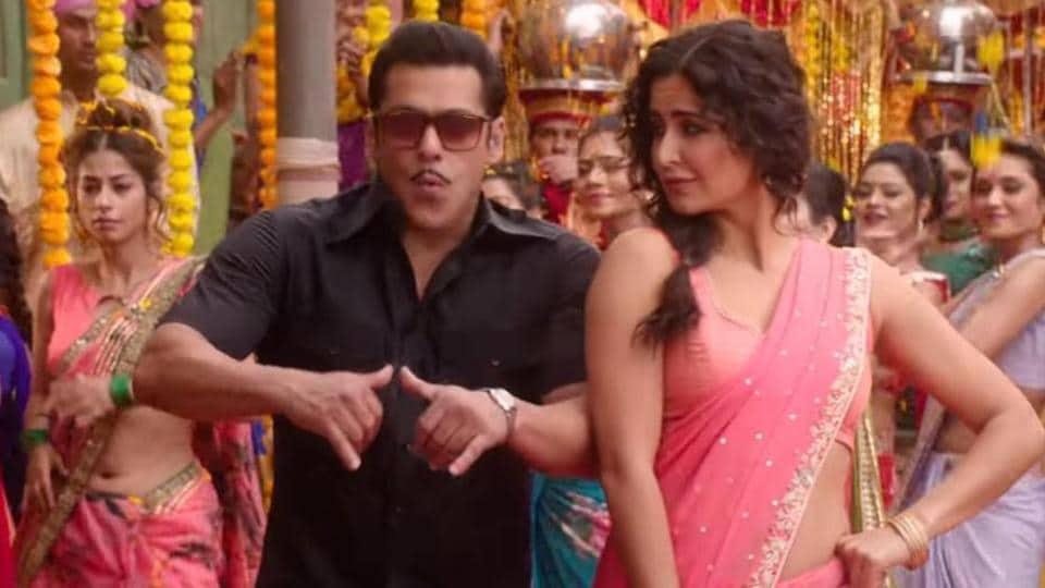 Salman Khan and Katrina Kaif in a still from Bharat.
