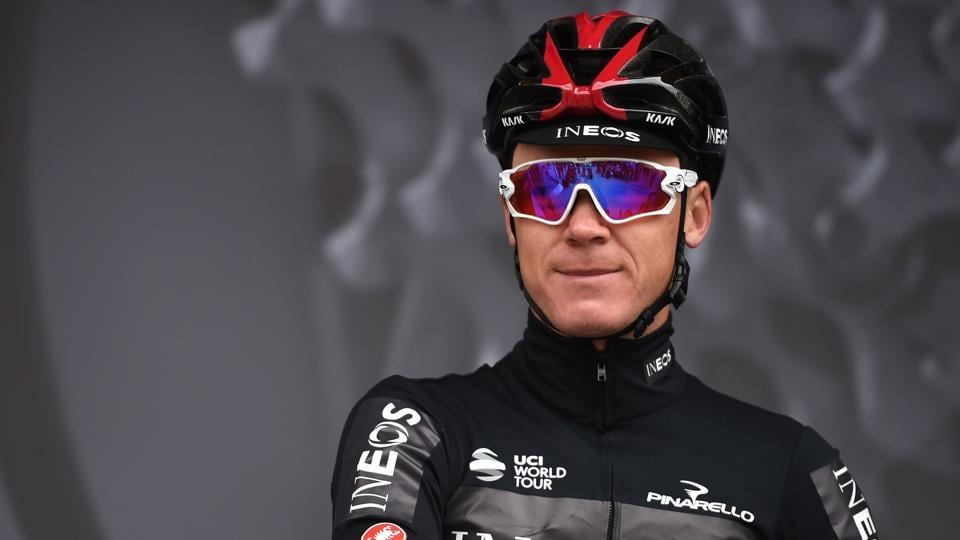 File image of Chris Froome.