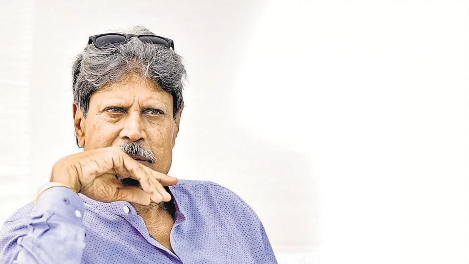 New Delhi, India - June 5, 2019: Former cricketer Kapil Dev on the occasion of World Environment Day, at Indira Paryavaran Bhawan, Jorbagh, in New Delhi, India, on Wednesday, June 5, 2019. (Photo by Biplov Bhuyan/ Hindustan Times)