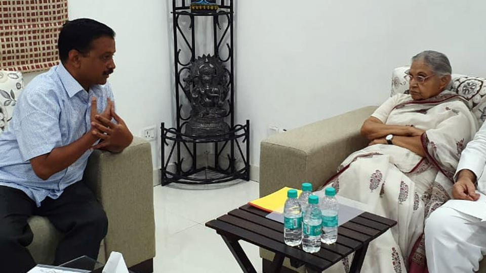 Sheila Dikshit,Arvind Kejriwal,Delhi