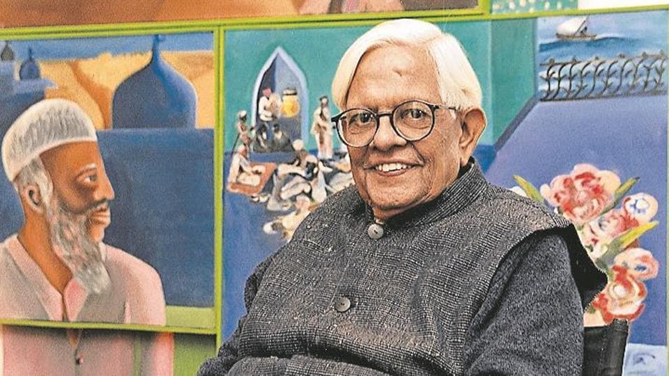 Bhupen Khakhar (1943 to 2003) is celebrated in the country as one of the path-breaking modernists of India on Tuesday in Mumbai, India.
