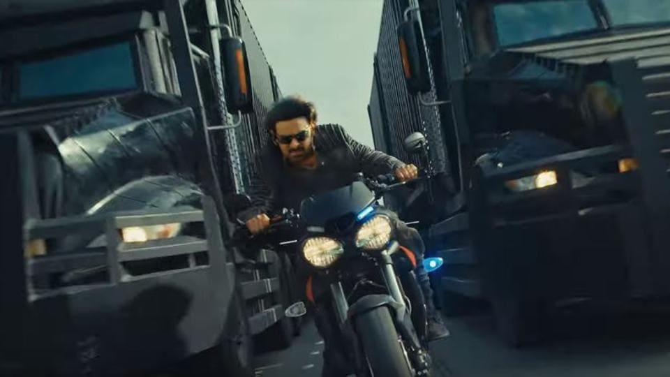 Saaho teaser: Prabhas, Shraddha Kapoor perform high-octane stunts in Sujeeth's upcoming thriller