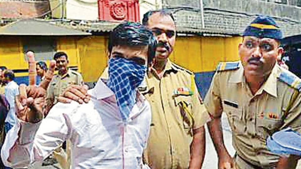Preeti Rathi acid attack accused Ankur Panwar outside Arthur road jail and was produced at Session court in Mumbai, India, on Thursday, September 8, 2016.