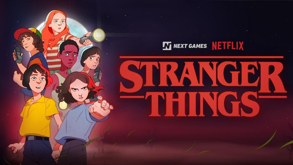 stranger things,stranger things game,stranger things 3
